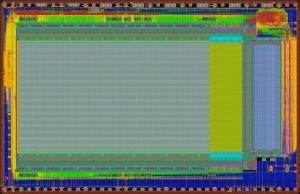 layout of a chip