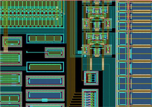 ESPROS Photonics chip design