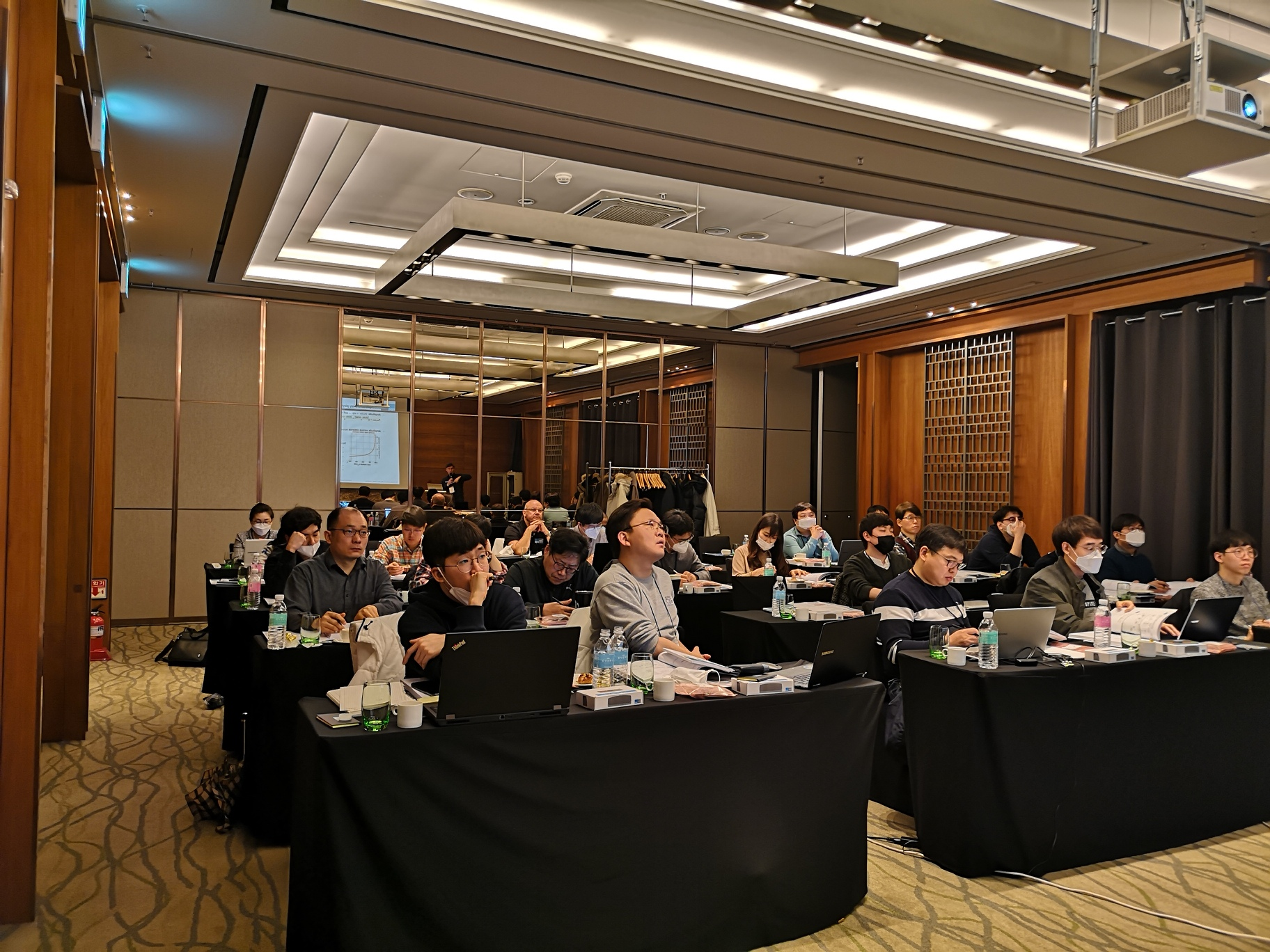 Audience of TOF Developer Conference 2020 in Korea