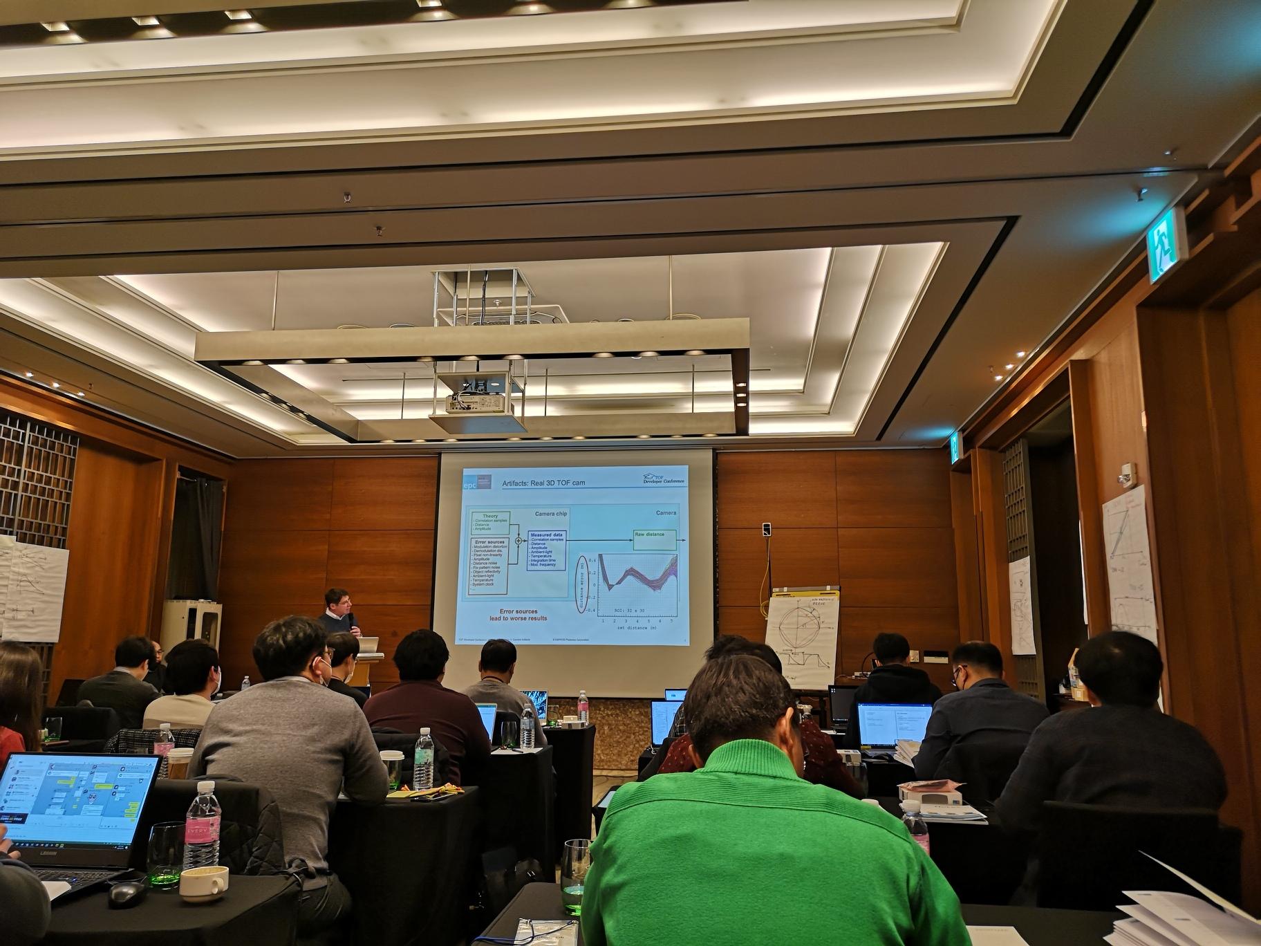Beat's presentation at TOF Developer Conference Korea